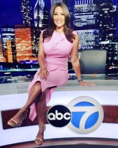 Cheryl Burton Emmy-award winning ABC 7 anchor/reporter